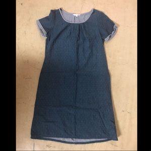 Downeast // blue dot dress